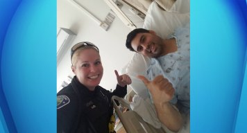 Wounded Hawthorne Police Officer Recovering at Hospital