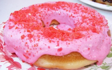 Pop Rocks Donut: OC Fair Foods