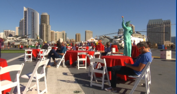 San Diego Veterans Honored at Salute to Service Festival by NBC 7 and Telemundo 20