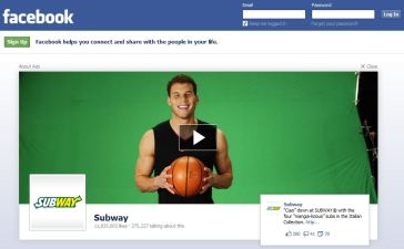 Facebook's New $700K Logout Ads