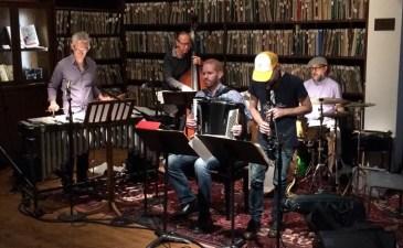 Claudia Quintet Rocks the Library