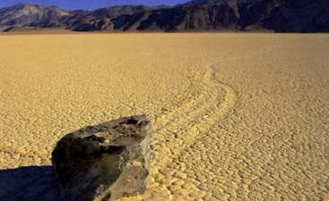 The Mysterious Death Valley Racetrack
