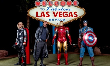 The Avengers Take Sin City