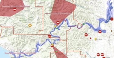 Mandatory Evacuations Ordered in Russian River Area