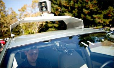 Google's Robot Car Gets Nevada's Green Light