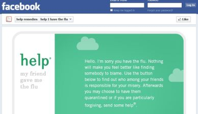 New Facebook Flu App Tells You Who to Blame