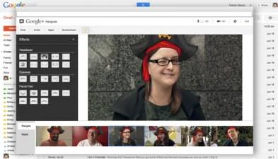 Google+ Touts Hangouts via Gmail