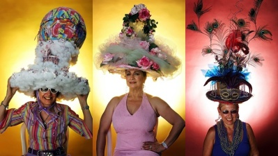 Del Mar Opening Day: Hat Contest