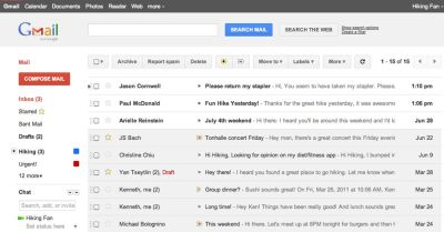 Google Renovates Gmail