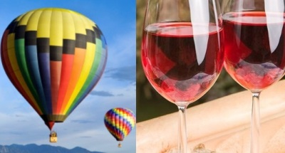 Balloons + Wine at Temecula Valley Fest