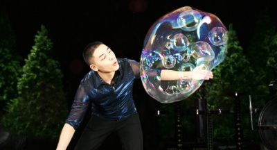 Bubble Time in Santa Ana