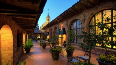 Mission Inn by Night