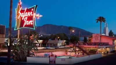 Burbank Getaway: Studio-Close Safari Inn