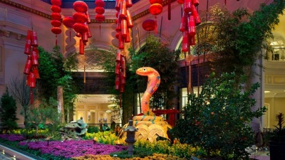 The Bellagio Welcomes the Year of the Snake