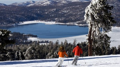 Skiing at Big Bear Opens
