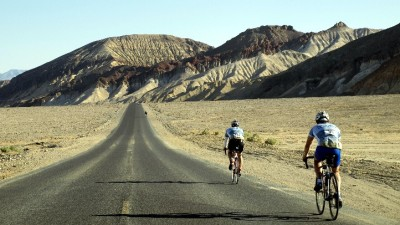 Autumn Ride in Death Valley