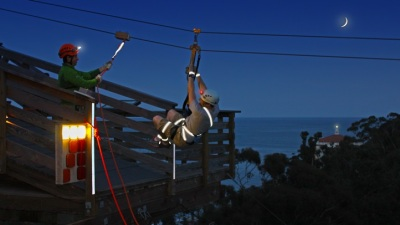 Zip by Night: A Catalina Island Adventure