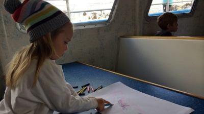 Whale Watching Art Lessons in Dana Point