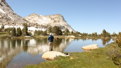Fishing Along the High Sierra