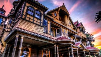 Easter Egg Hunt at the Winchester Mystery House