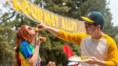 Gilroy Garlic Festival: Gourmet Alley Peek