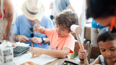Palm Springs Cute: Family Crafting Weekend