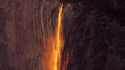 Sunset + Water + Yosemite: Magical Horsetail Fall