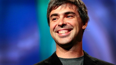 Google's Larry Page Loses Voice