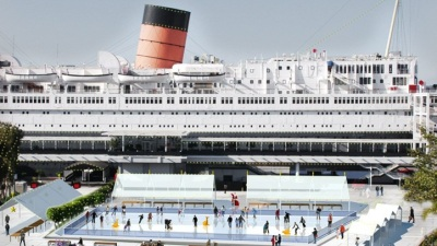 Queen Mary at the Holidays