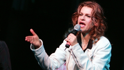 "The Love of ""Being"" Sandra Bernhard"