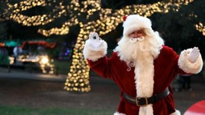 Santa in Irvine