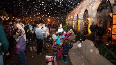 Snow in Capistrano: Christmas at the Mission