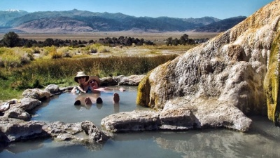 Mono County: Hot Springs Ahoy