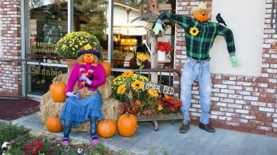 Big Bear Lake Village Scarecrow Fest