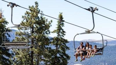 Heat Escape: Big Bear Scenic Sky Chair