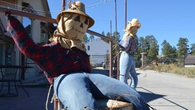 Scarecrow Festival at Big Bear Lake