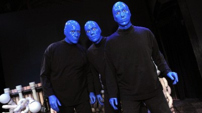 Blue Men in Orange County