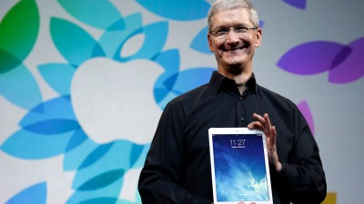 Apple's Tim Cook Saves Thanksgiving