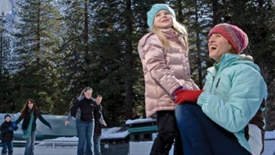 Chilly Pursuits: Yosemite Ice Rink Opens