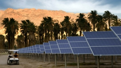 Solar Field Tour at Furnace Creek Ranch