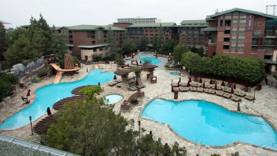 Disney's Grand Californian: Swimming Hole Refresh