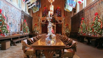 Hearst Castle's Holiday Style