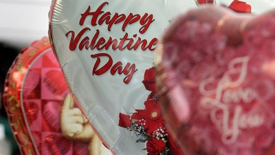 Biggest Heart Balloon: Oceanside Valentine's