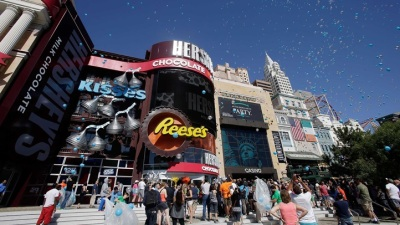Vegas New: Hershey's Chocolate World