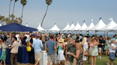 An OC Beach Party Fetes California Wines