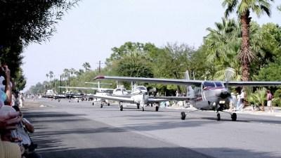 Palm Springs Parade of Planes