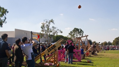 Squash in Flight: Fullerton Pumpkin Launch