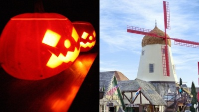 Halloween Weekend in Spooky Solvang
