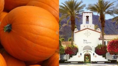 Pumpkin Treatments Autumn-Up Spa La Quinta