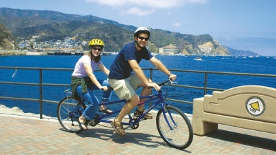 Two-Wheeling It on Catalina Island